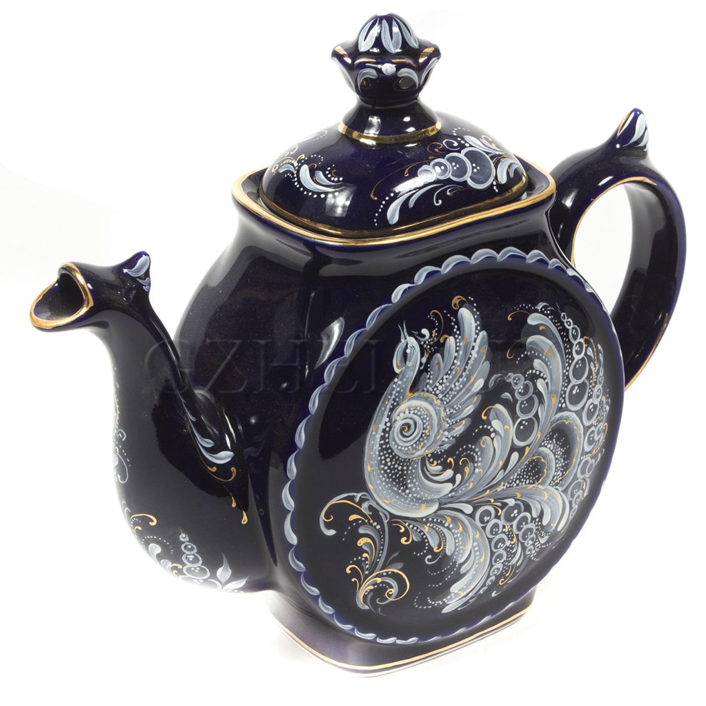 Чайник «Сказочный» (глухой кобальт)