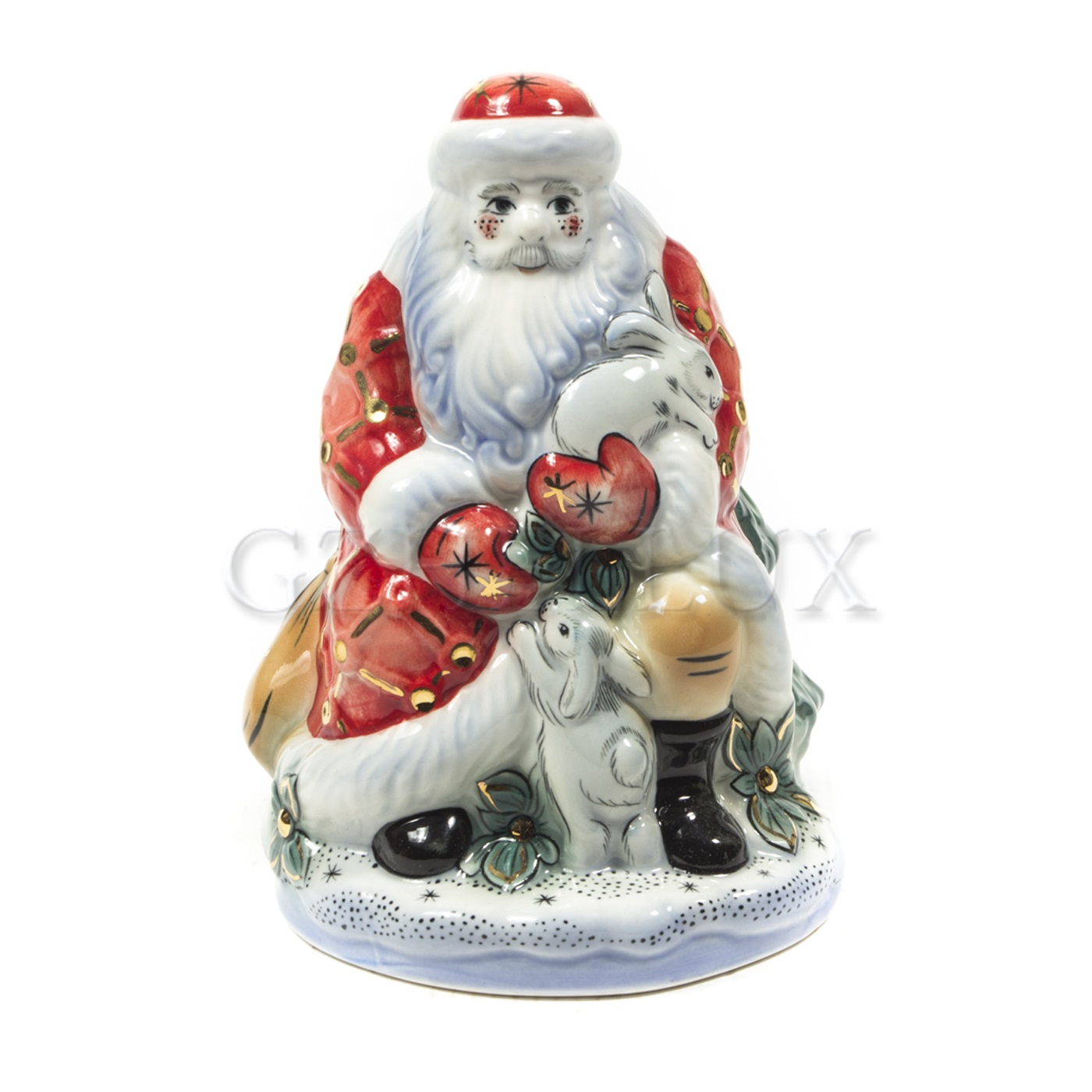 Скульптура «Дед Мороз красочный»
