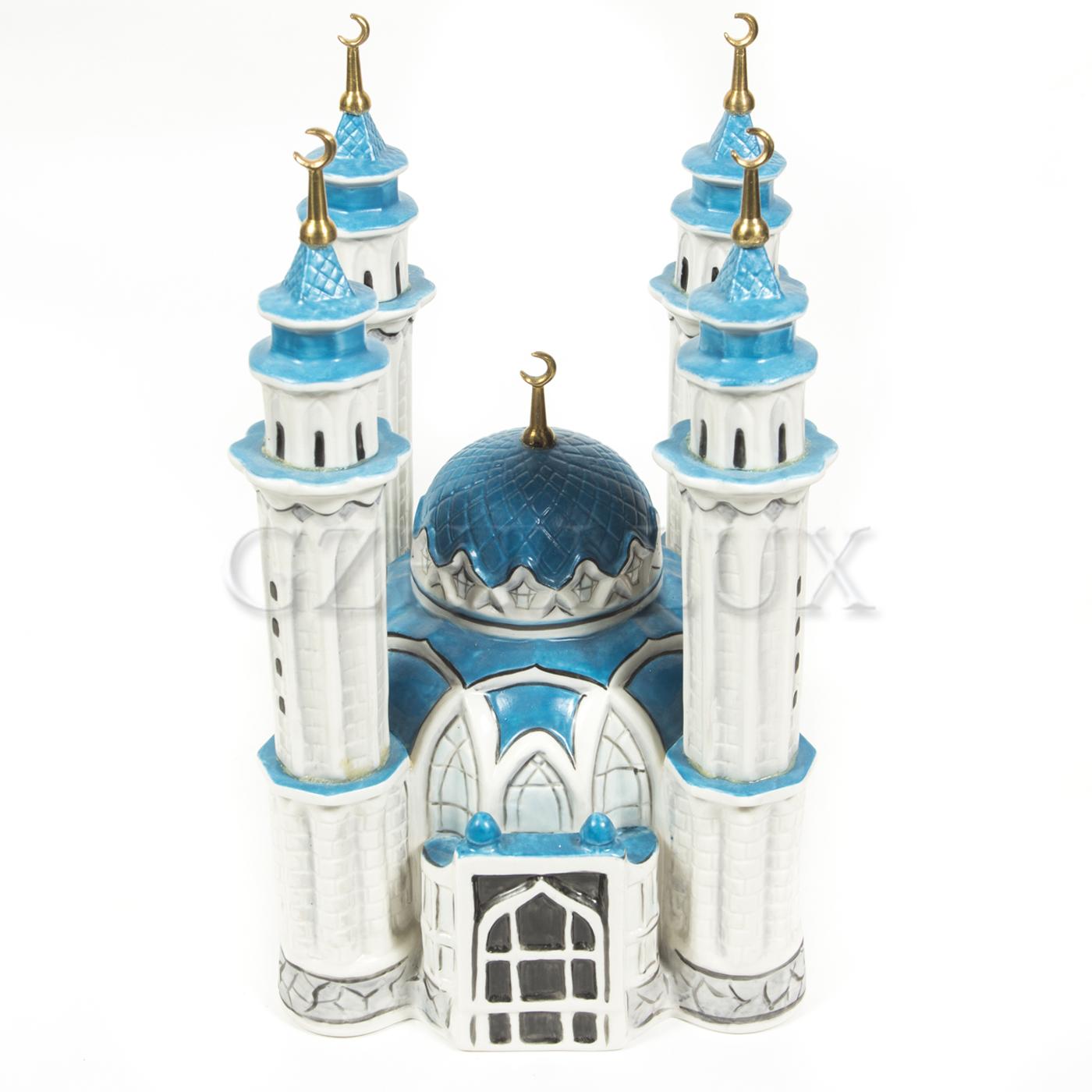 Скульптура «Мечеть» в красках