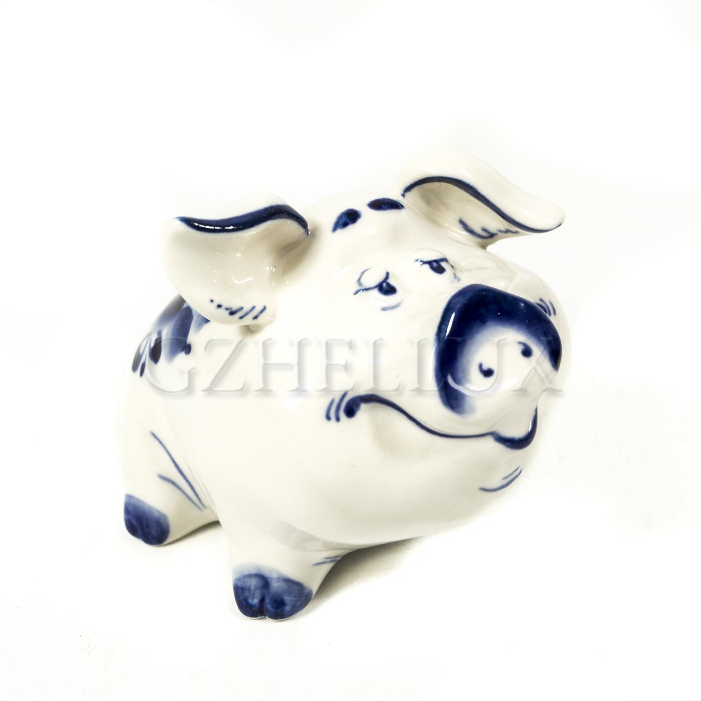 Скульптура «Свинка Веселая»