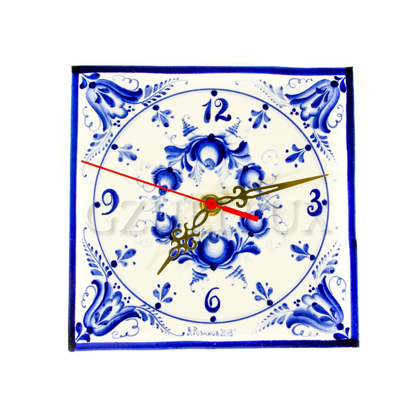 Часы «Васильки»