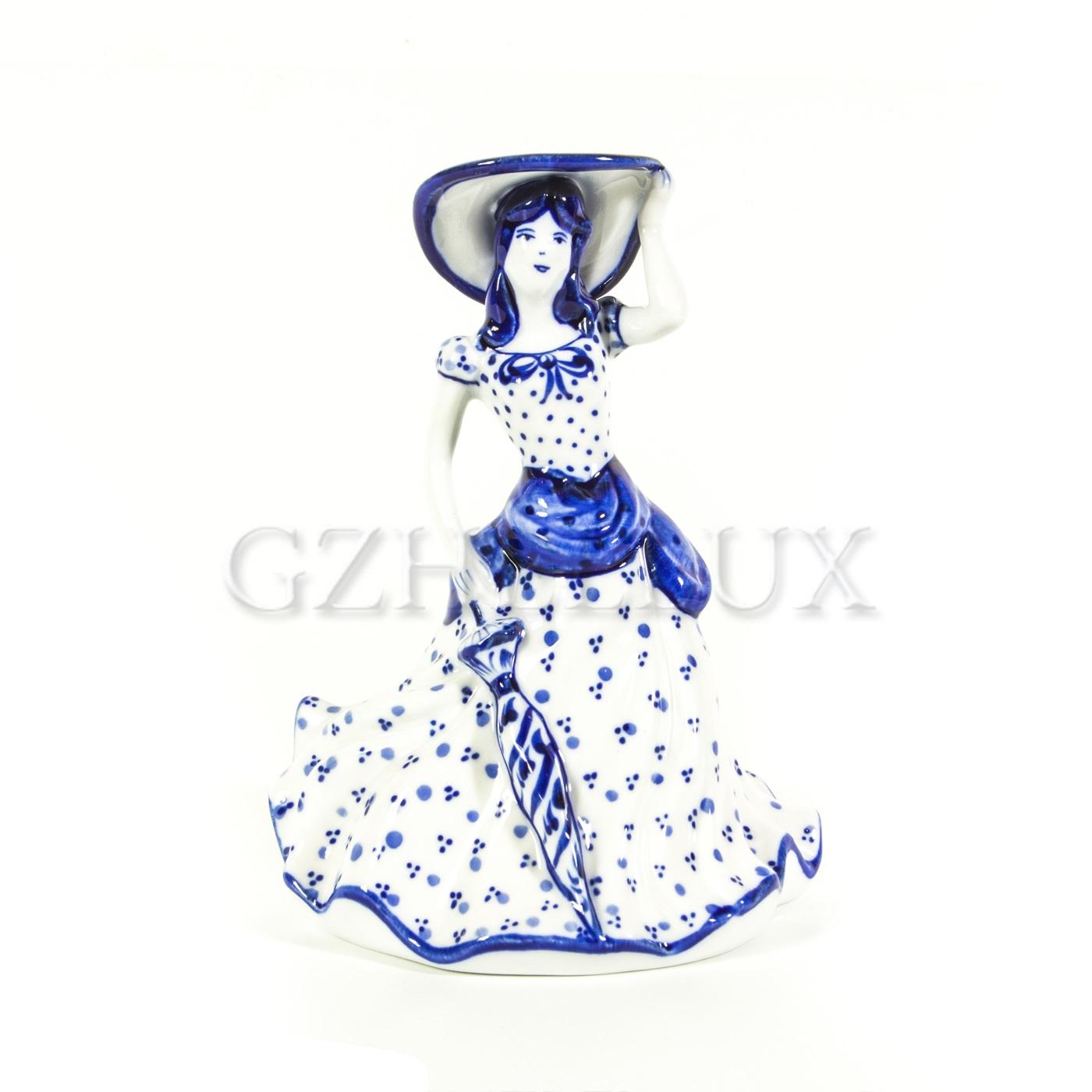 Колокольчик «Дама с зонтиком»