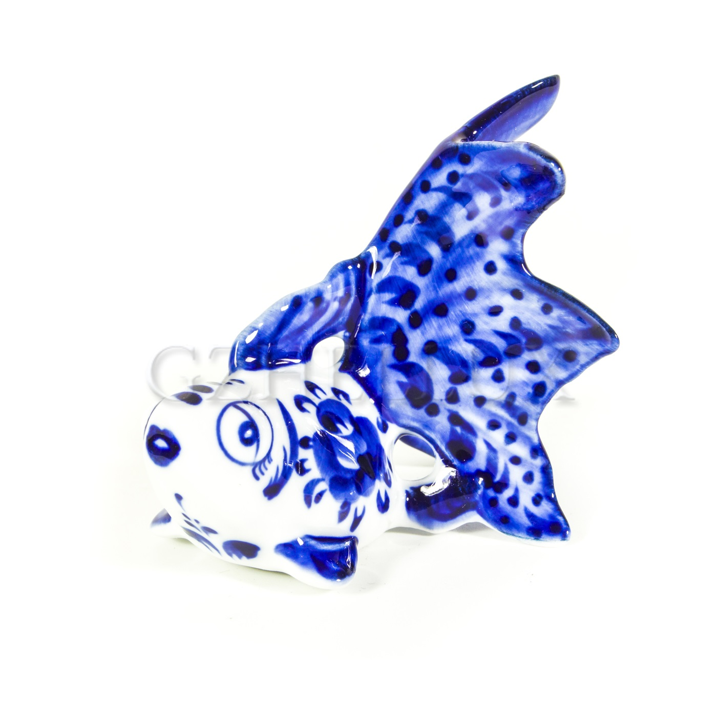 Скульптура «Рыбка золотая»