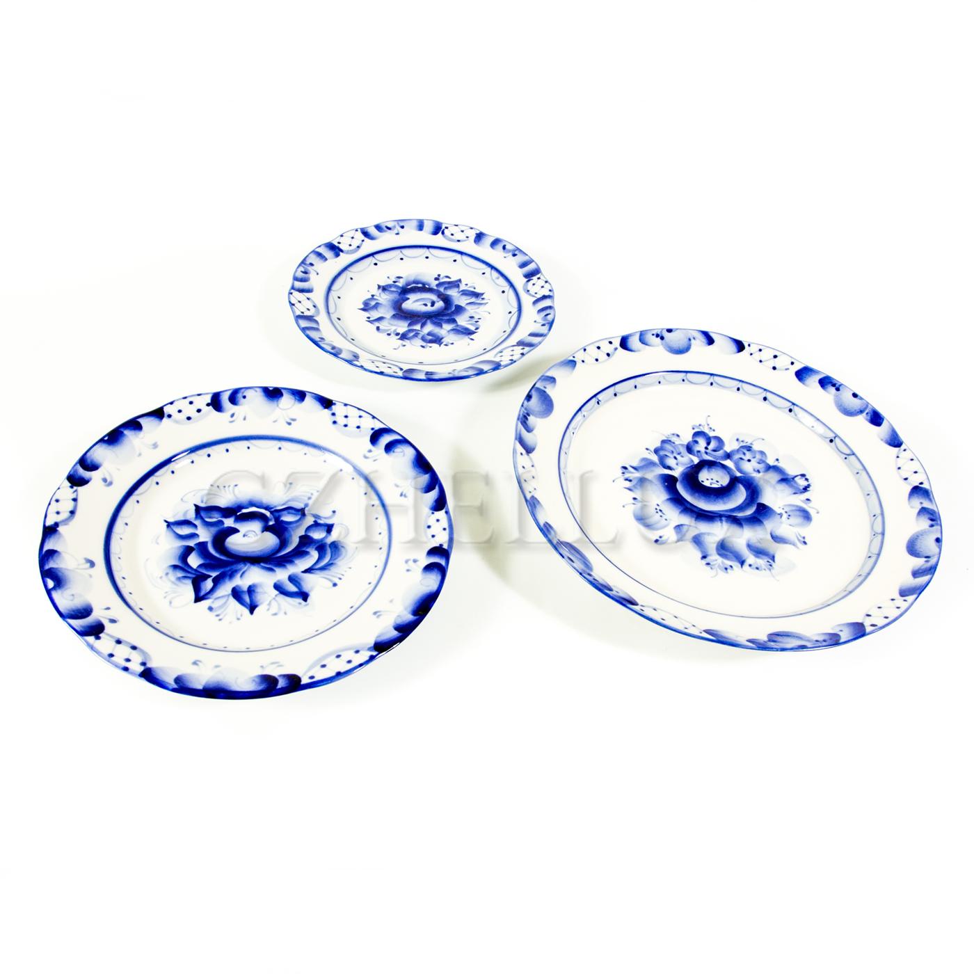 Тарелка столовая «Ручеек»