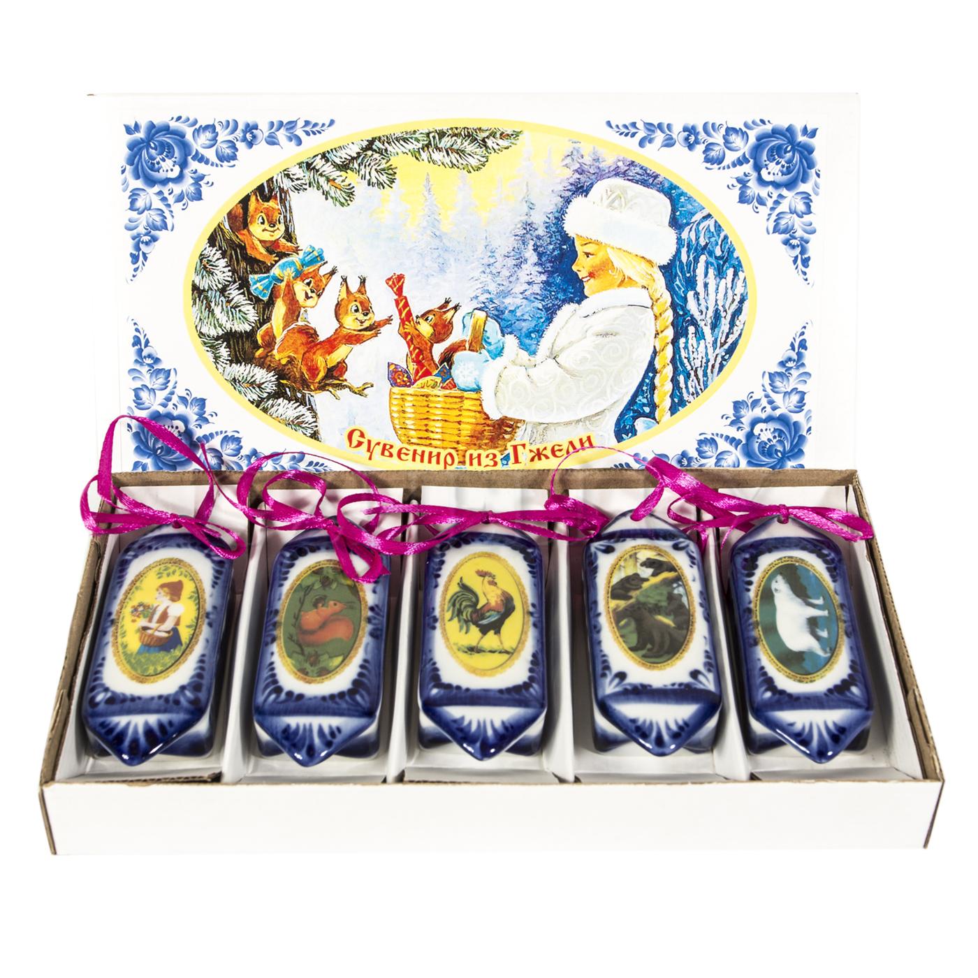 Набор ёлочных игрушек «Конфеты»