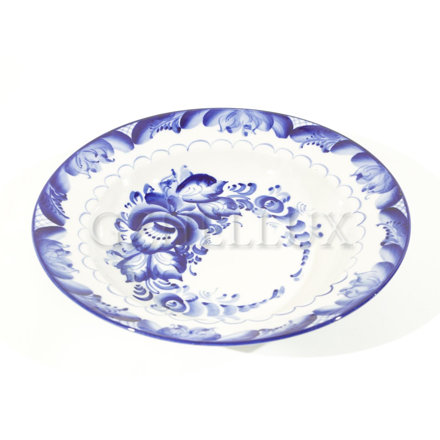 Тарелка «Синие Розы» глубокая