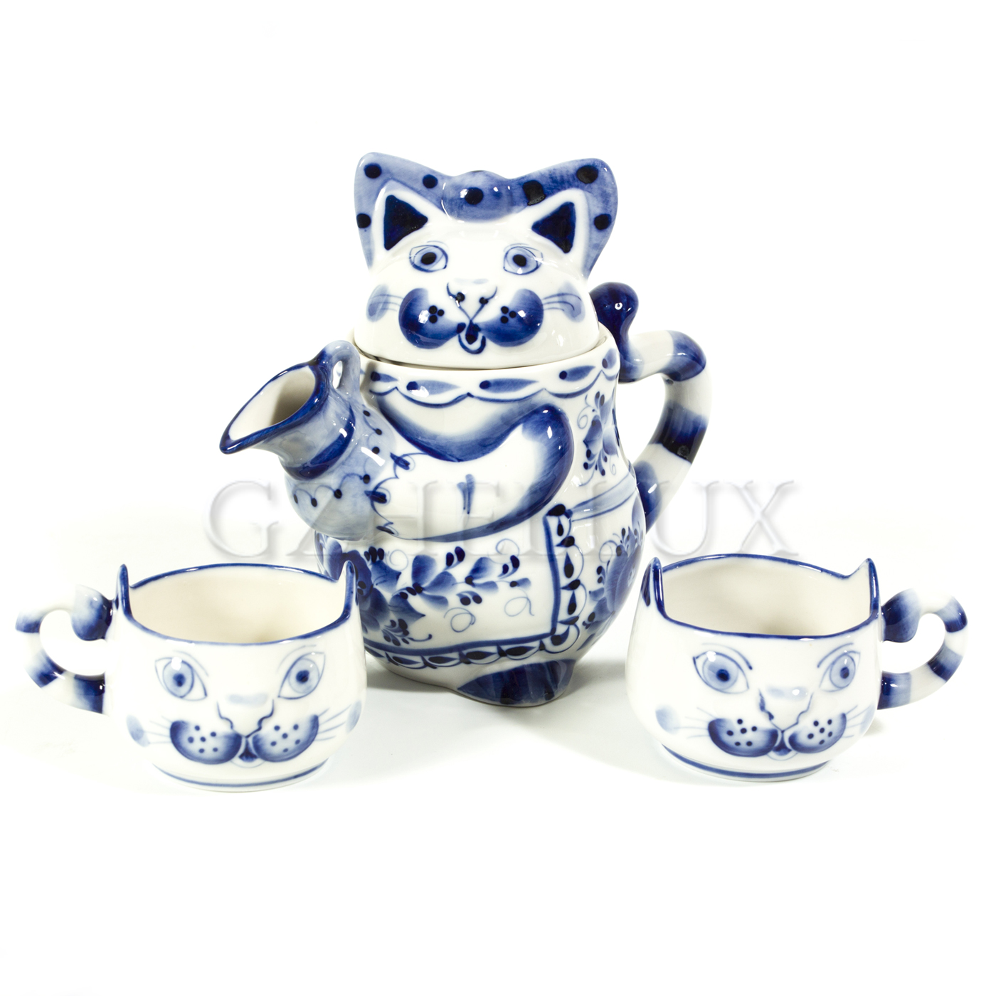 Набор чайный «Коты»