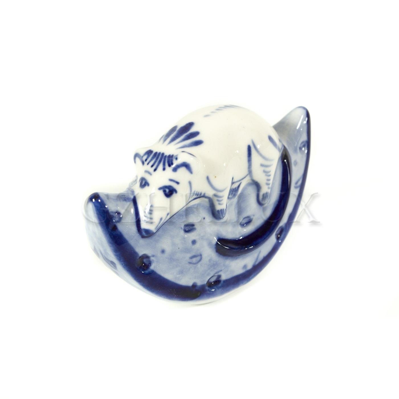 Скульптура «Мышонок на сыре»