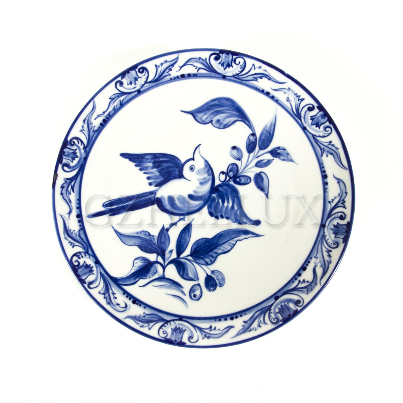 Тарелка декоративная «Птичка»