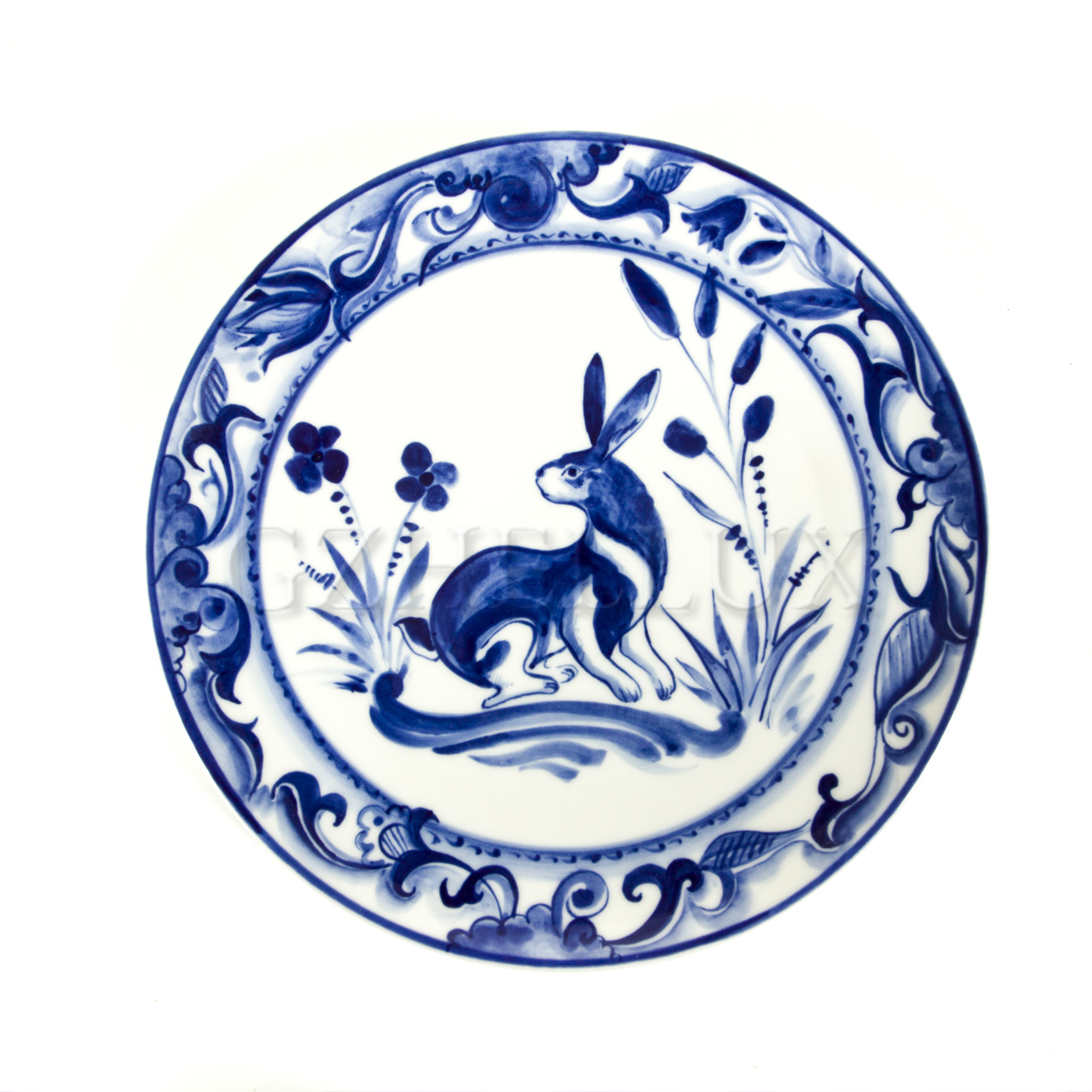Тарелка декоративная «Заяц»
