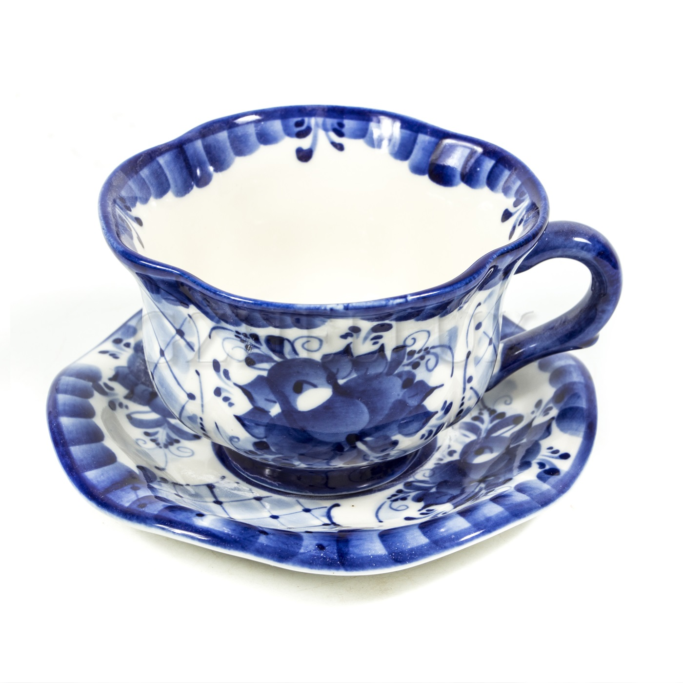 Чайная пара «Синяя Роза»
