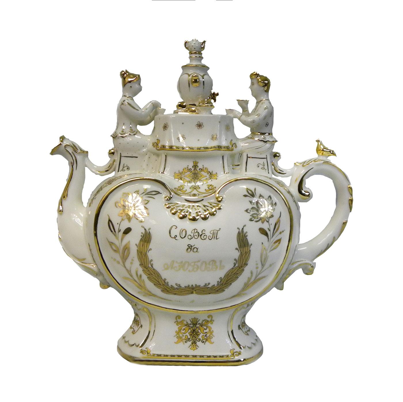 Чайник «Свадебный» (Совет да Любовь)