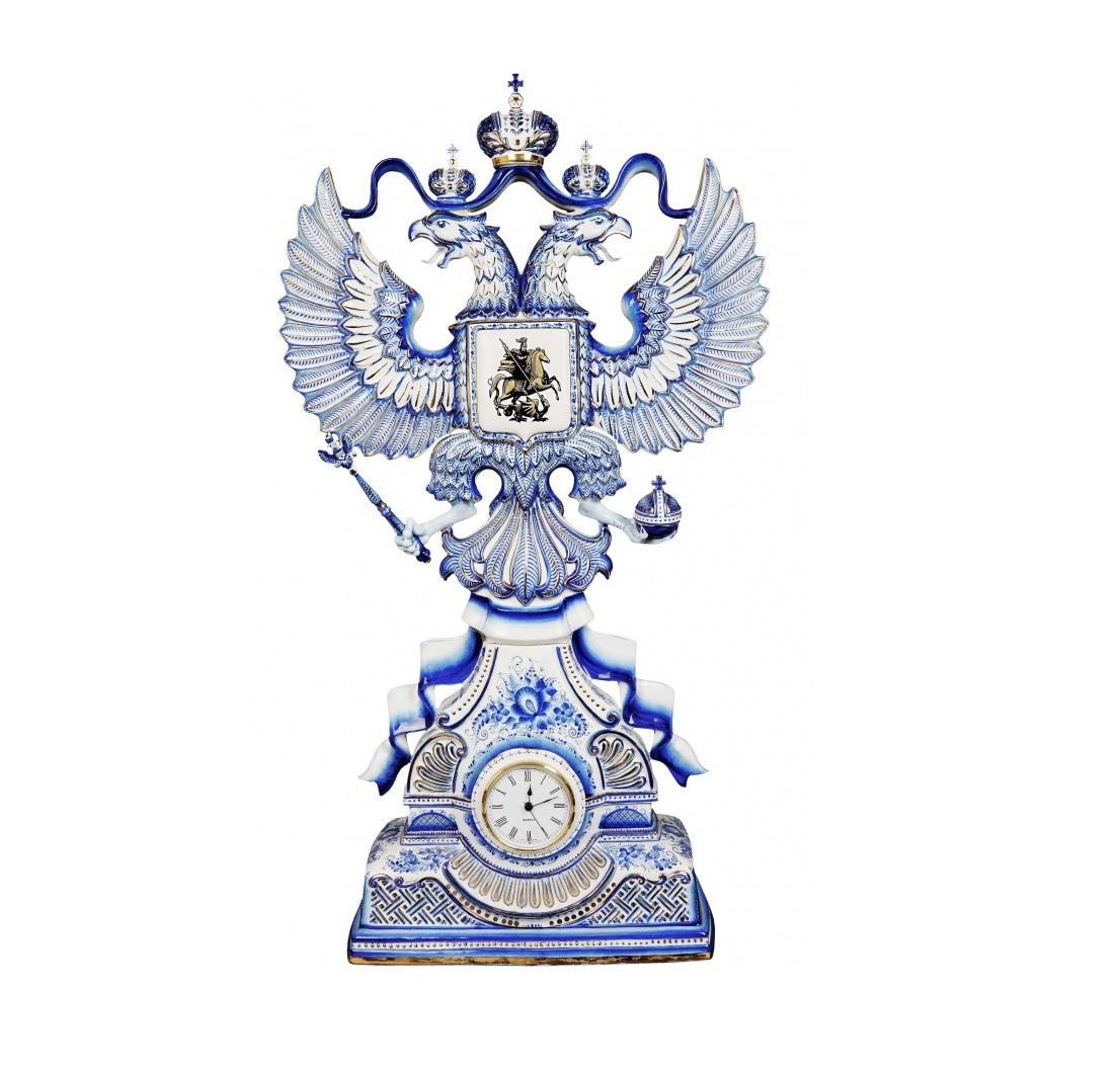 Часы «Герб России»