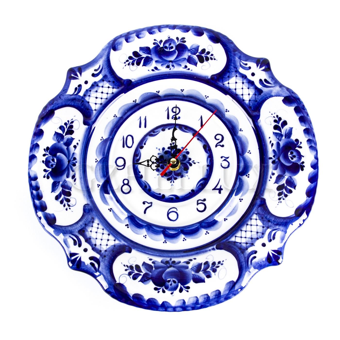 Часы «Синие Розы»