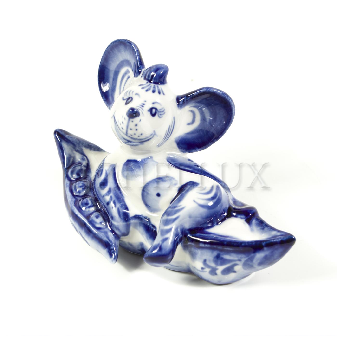 Скульптура «Мышонок на горошине»