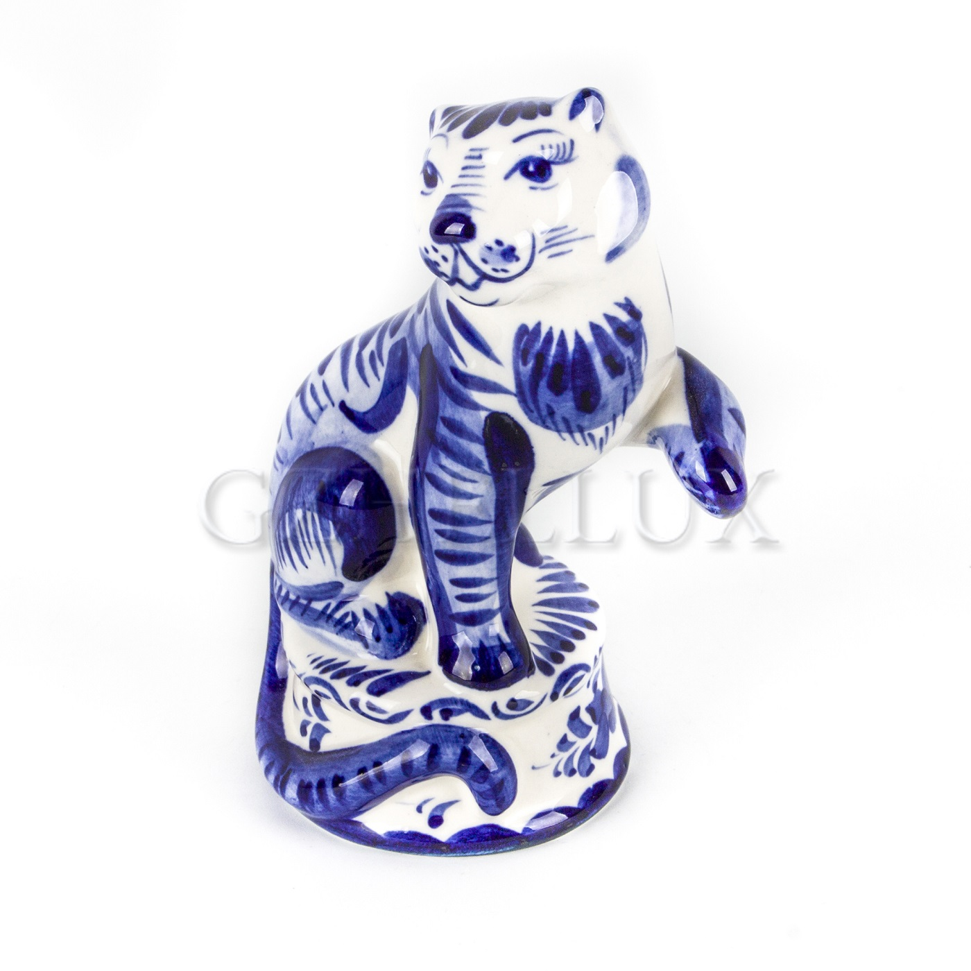 Скульптура «Тигр на подставке»