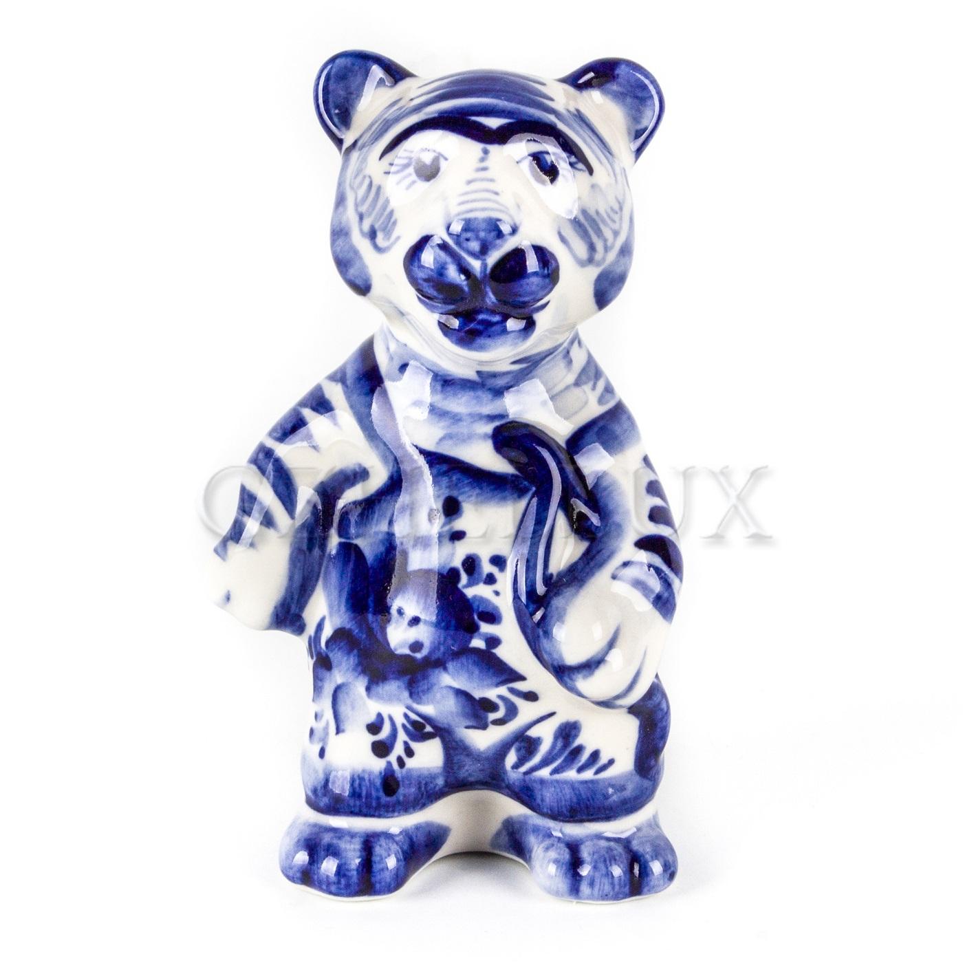 Скульптура «Тигр Охотник»