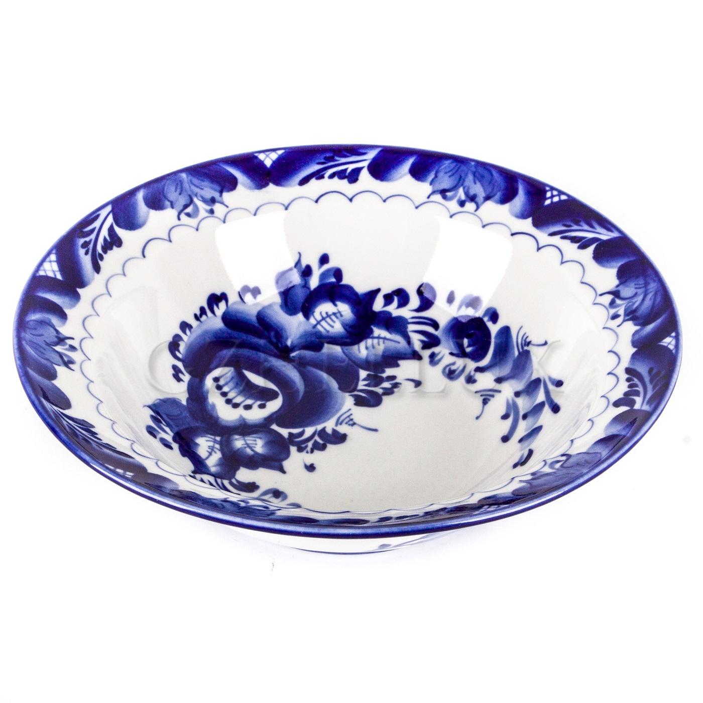 Тарелка для первого «Синие Розы» (супница)