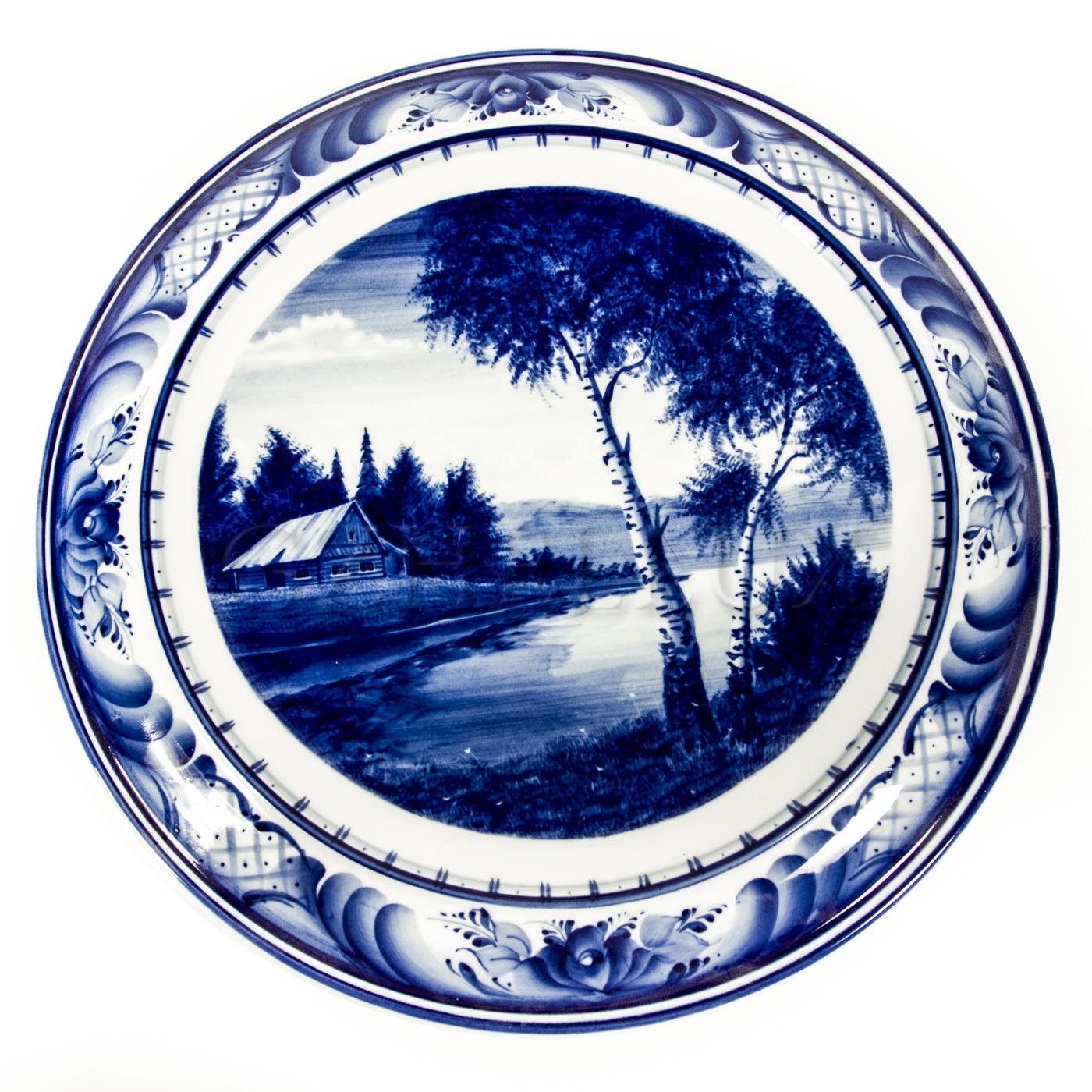 Тарелка декоративная «На Берегу»