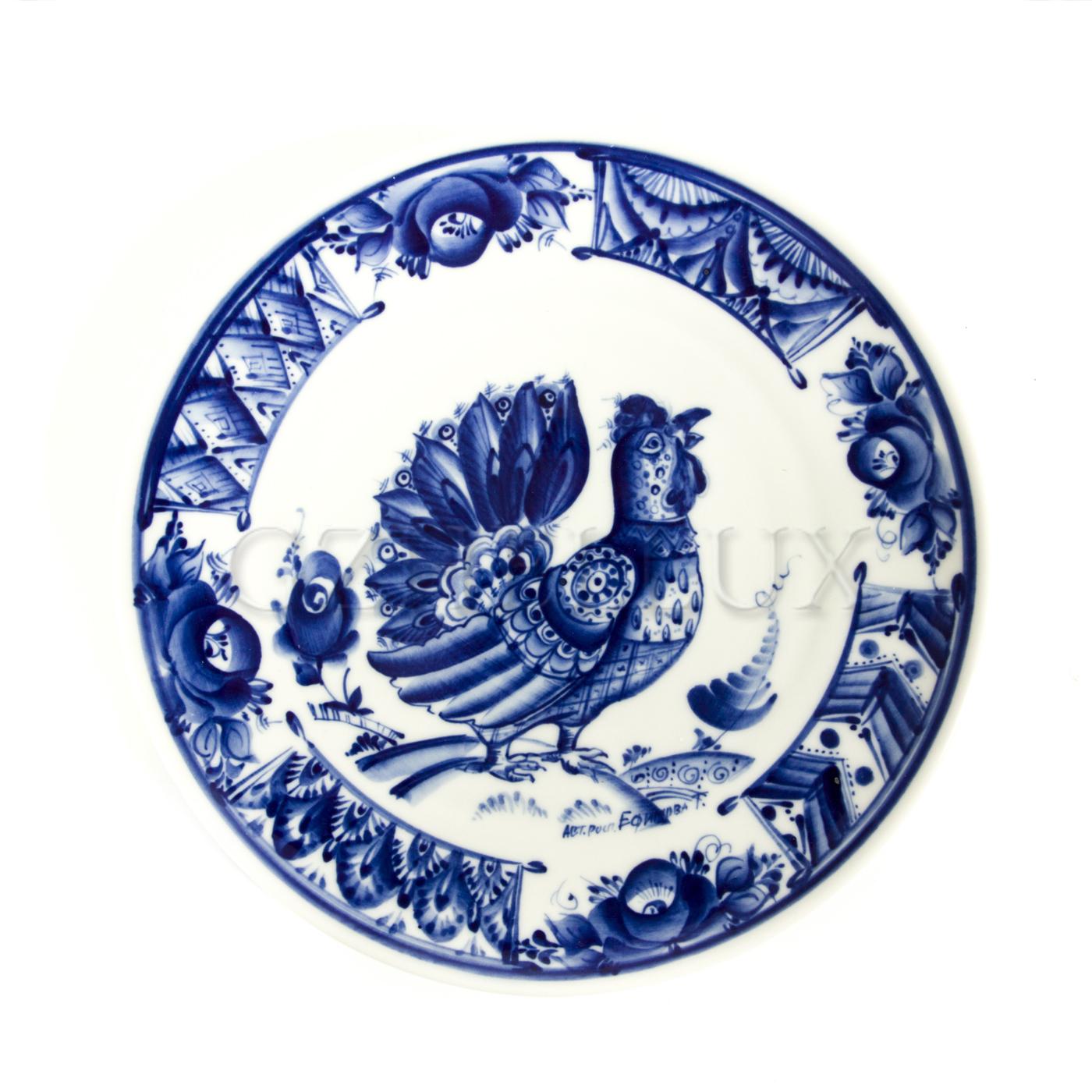 Тарелка декоративная «Петушок»