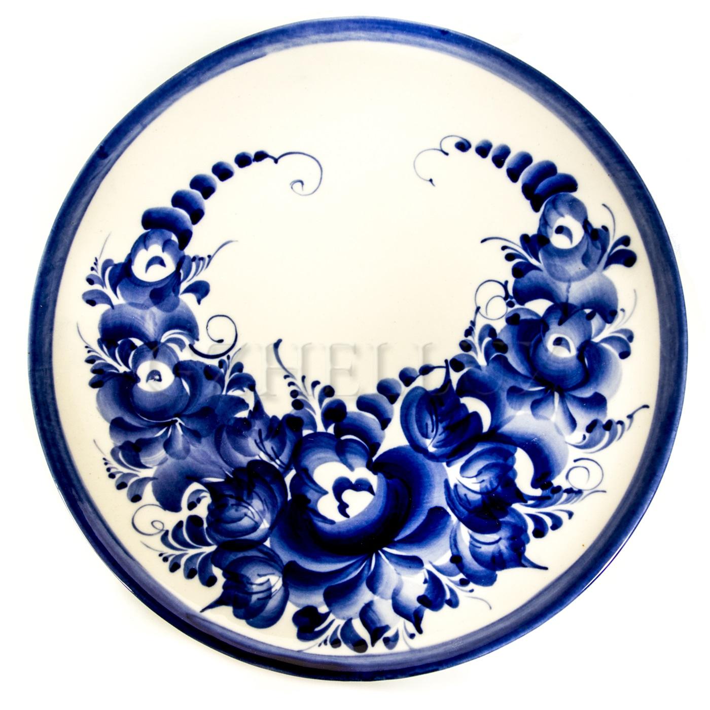 Тарелка настенная «Жостово»