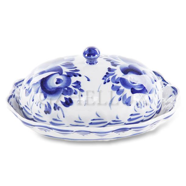 Маслёнка «Синие Розы»