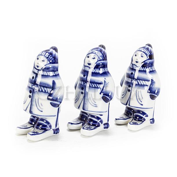Скульптура «Лыжник»