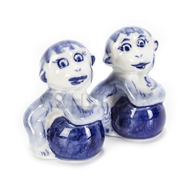 Скульптура «Обезьяна с Мячом»