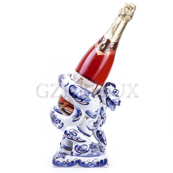 Скульптура «Горилла под Шампанское»