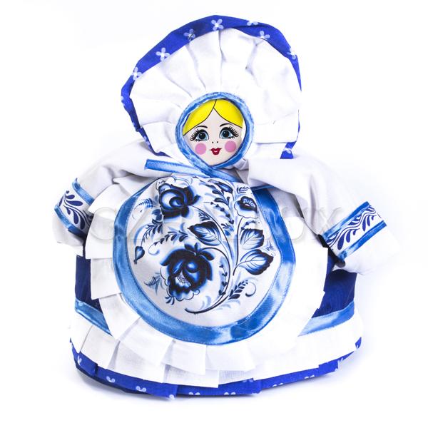 Кукла-Грелка «Дымковская игрушка»