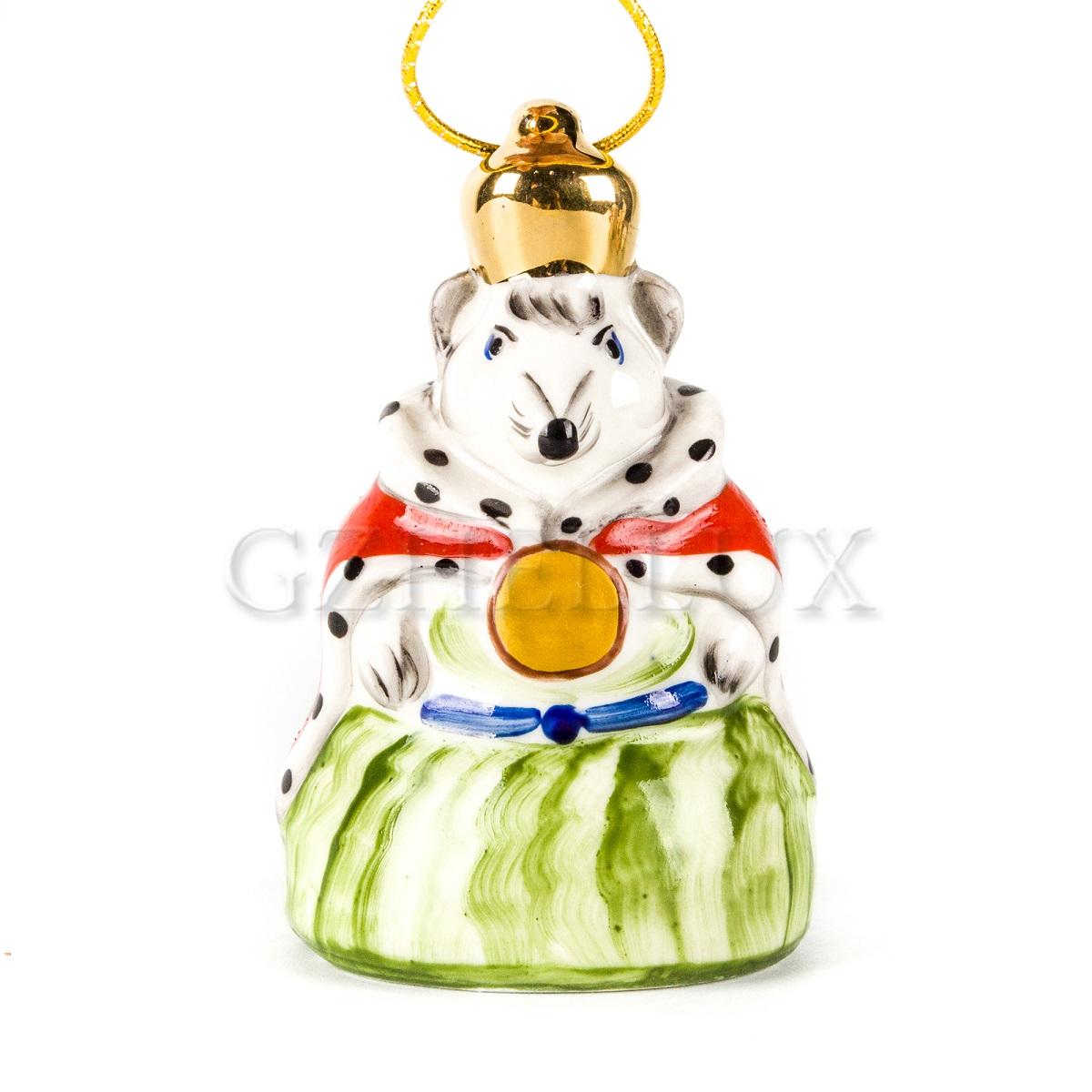 Ёлочная Игрушка «Мышиный Король» в красках