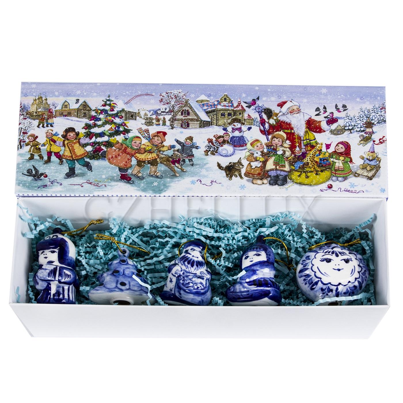 Набор ёлочных игрушек «Каникулы»