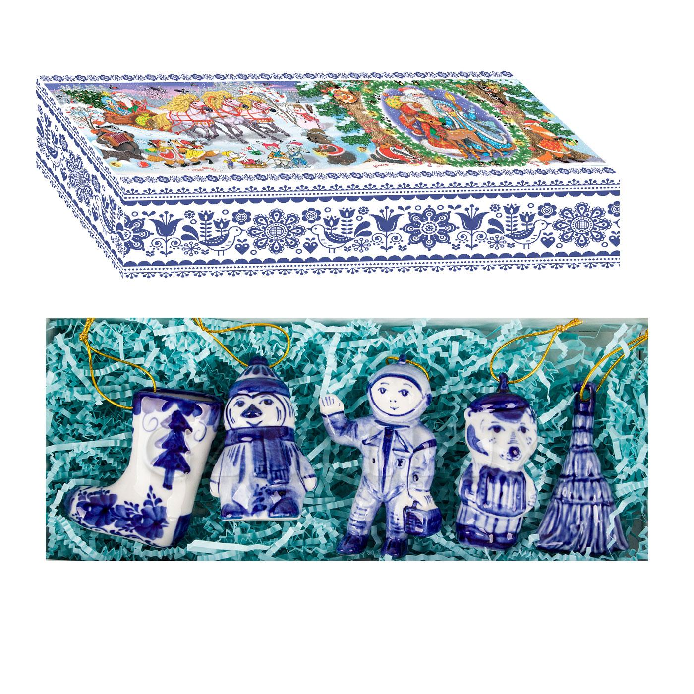 Набор ёлочных игрушек «Русский сувенир»