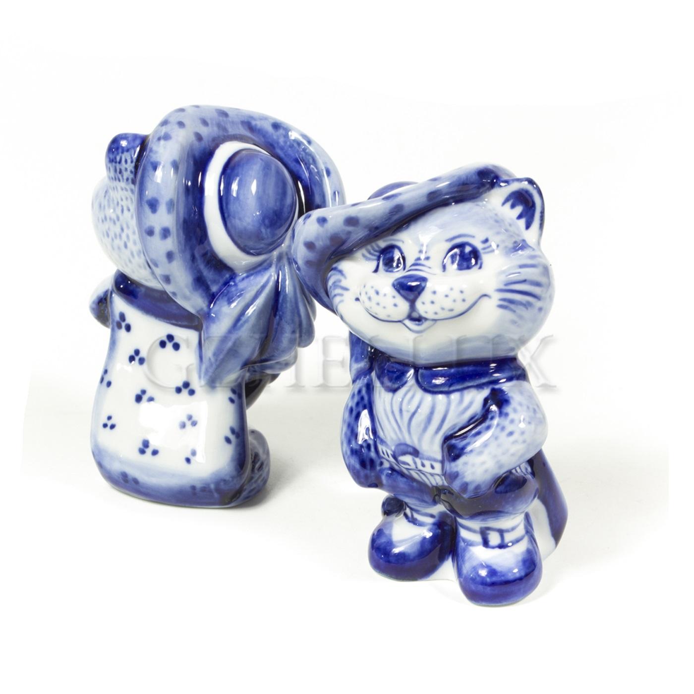 Скульптура «Кот в сапогах»