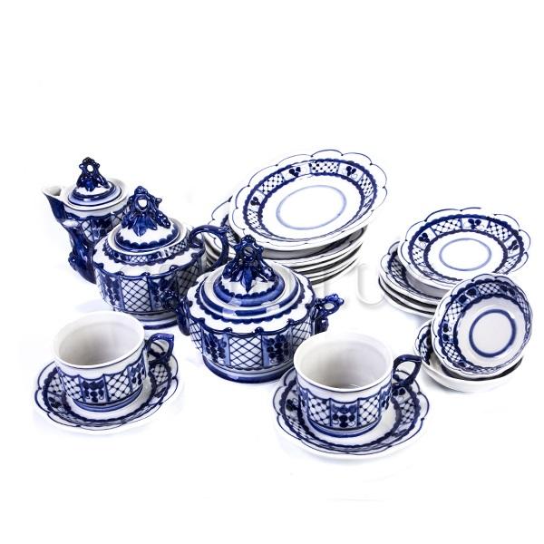 Сервиз чайный «Сеточка»