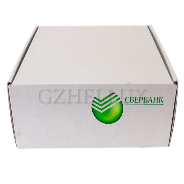 Коробка Гофра белая