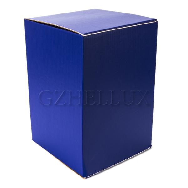 Коробка Гофра цветная