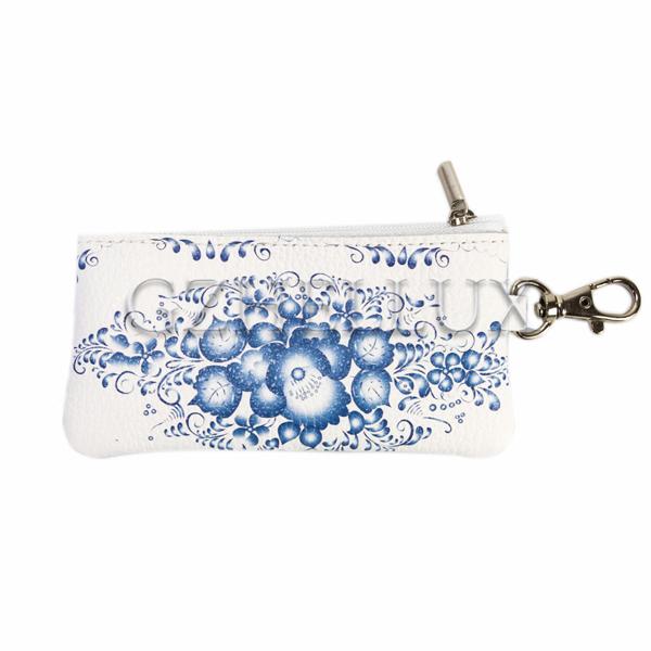 Ключница сумочка «Гжель»