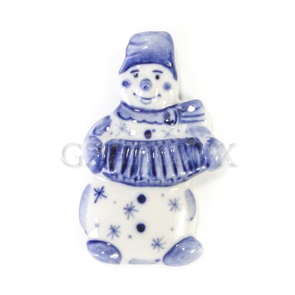 Магнит «Снеговик»