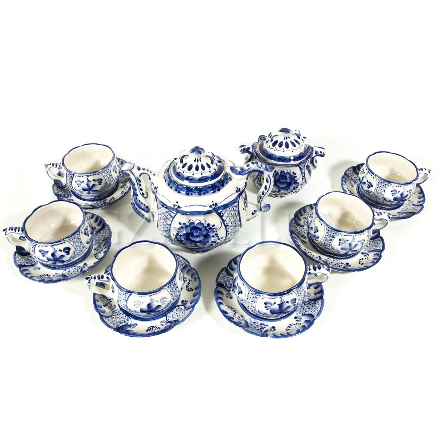 Сервиз чайный «Ажурный»