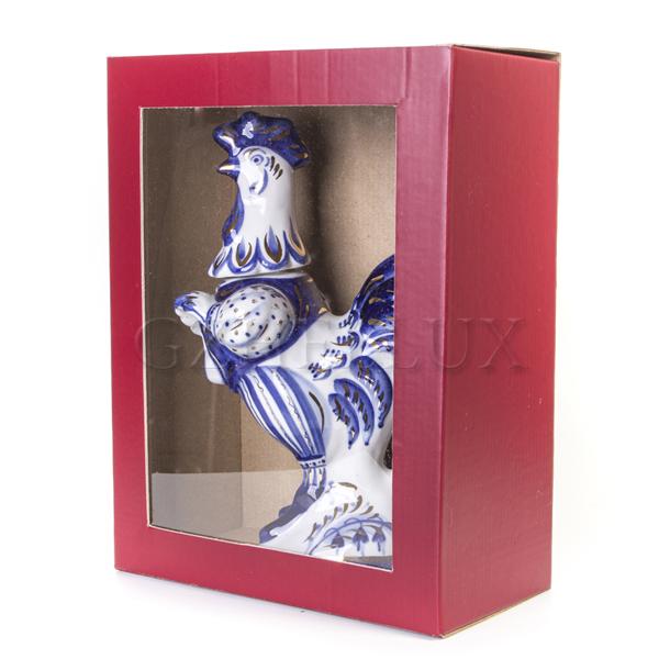 Коробка Гофра цветная с окном