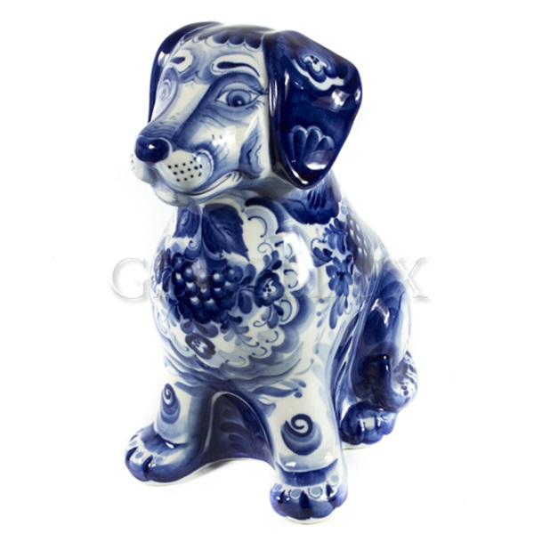 Скульптура «Собака Новогодняя»