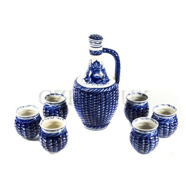 Набор для вина «Погребок» (Кувшин + 6 бокалов)