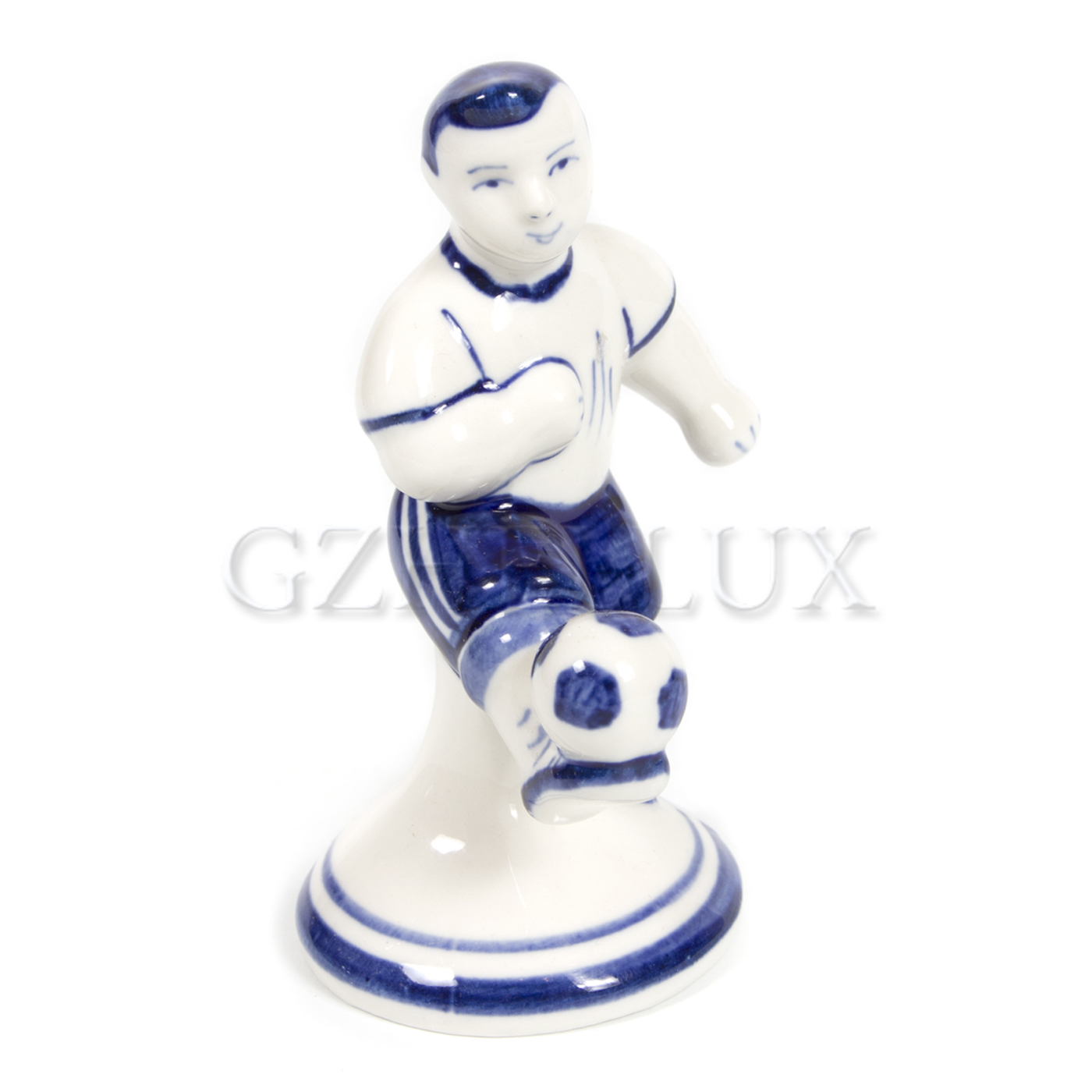 Скульптура «Футболист» малый