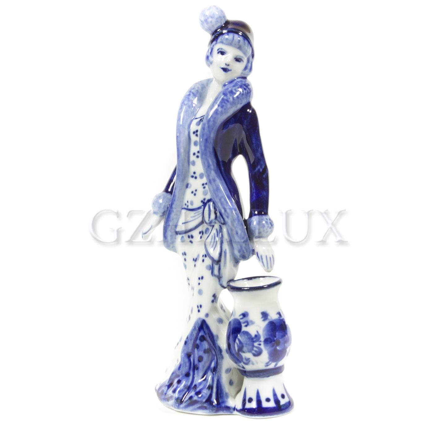 Колокольчик «Дама с вазой»