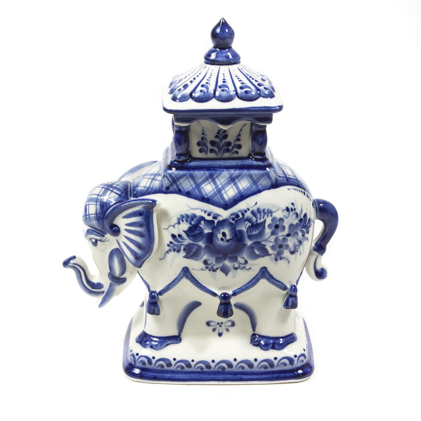 Шкатулка «Слон малый» (Чайница)