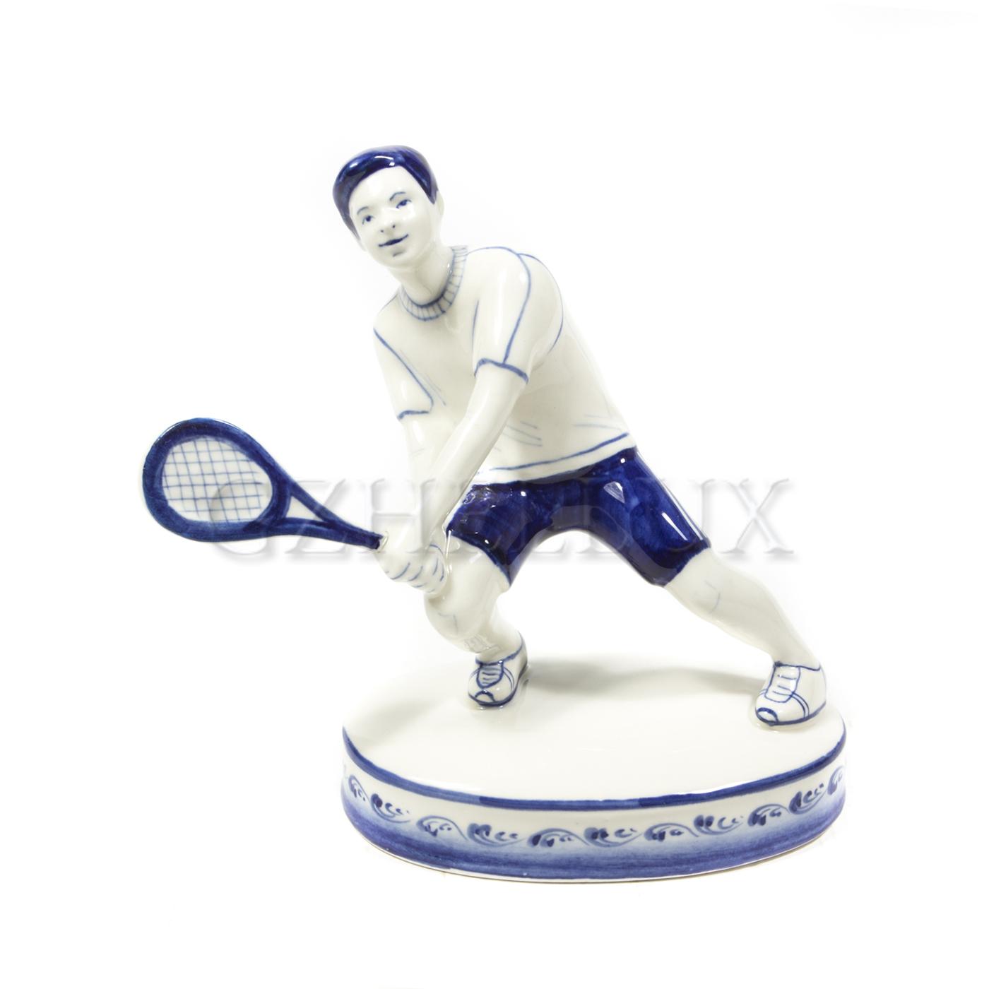 Скульптура «Теннисист»