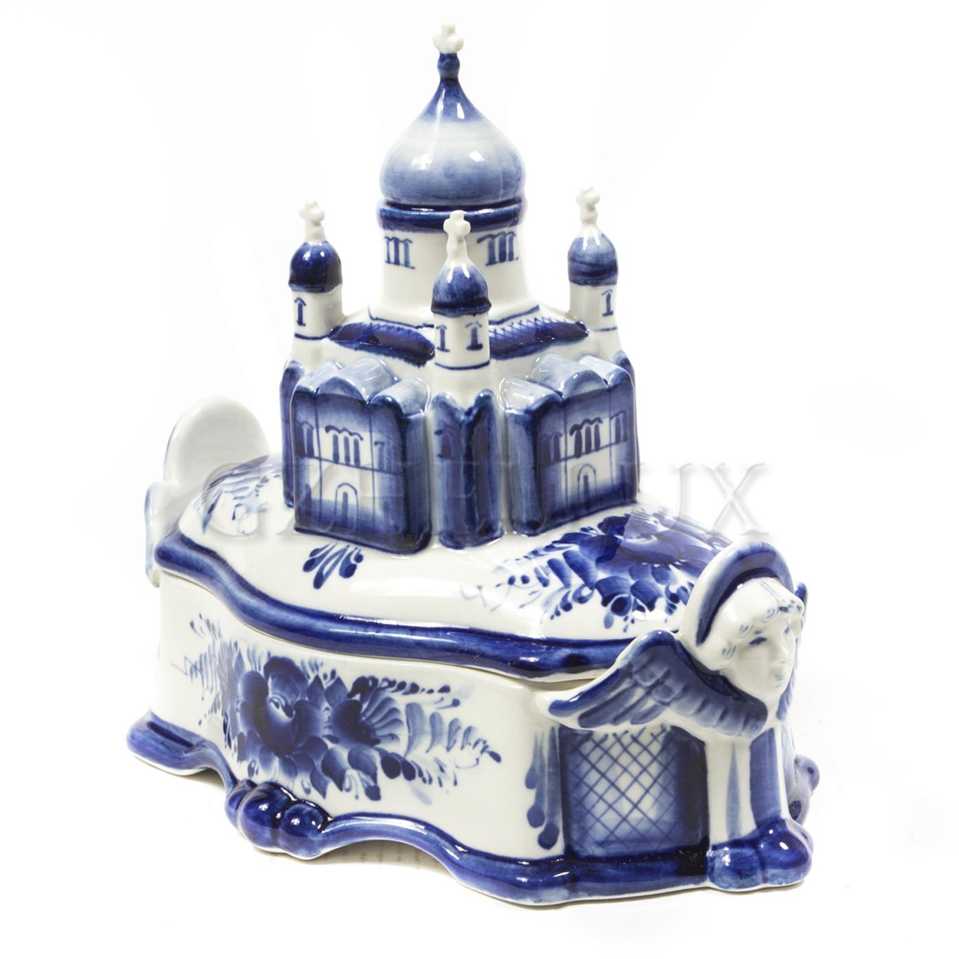 Шкатулка «Храм Христа Спасителя»