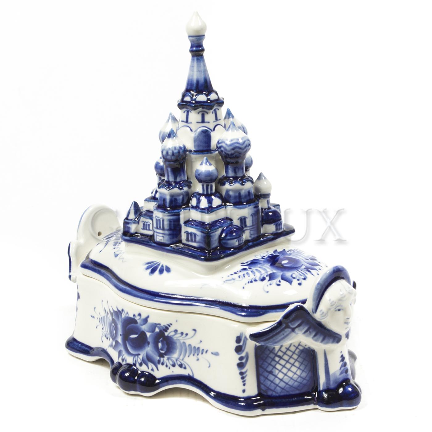 Шкатулка «Храм Василия Блаженного»