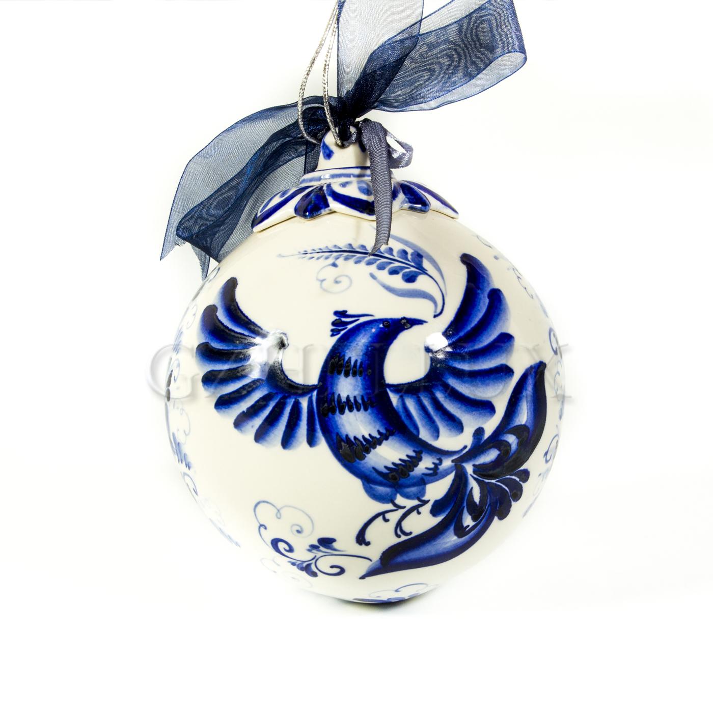 Ёлочный шар «Жар Птица»